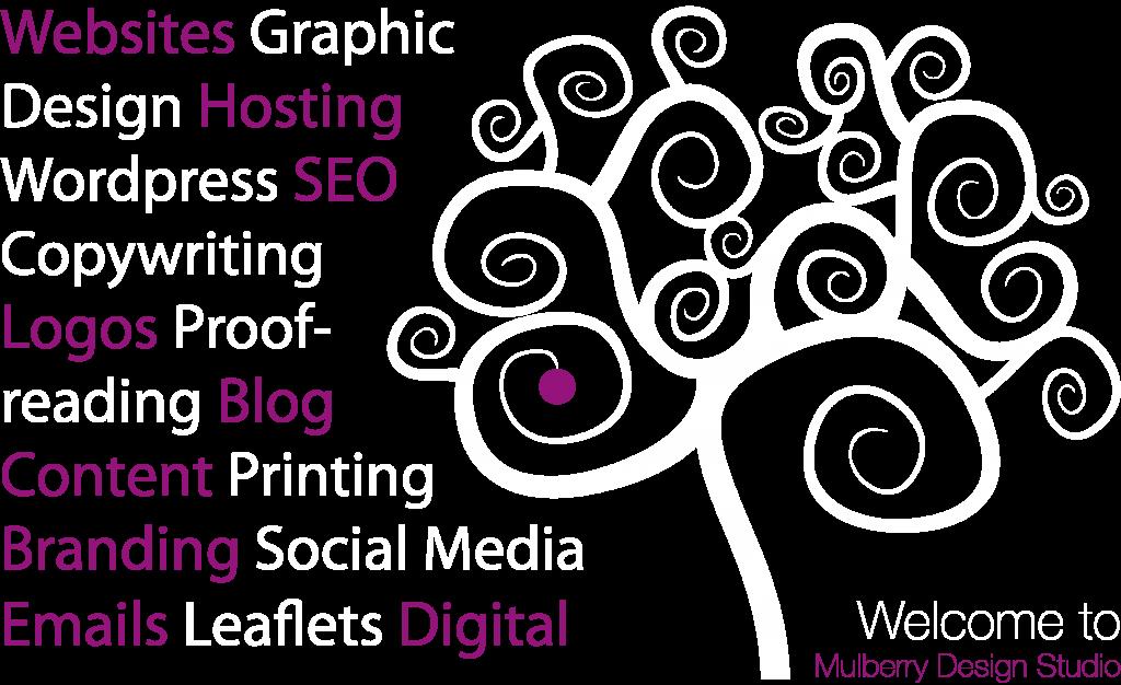 Websites Graphic Design Hosting WordPress SEO Copywriting Logos Proofreading Blog Content Printing Branding Social Media Emails Leaflets Digital